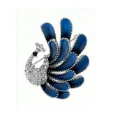 Brooches-Yoursfs@ Fashion Women Jewelry Elegant Crystal Rhinestone Peacock Brooch Pin Cute Animal Brooches Scarf Buckle Wedding on JD