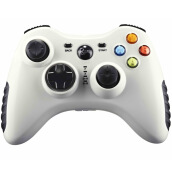 Game Controllerss & Steering Wheels-BETOP BTP-2175s Asura Series Wired Smart Gamepad white on JD