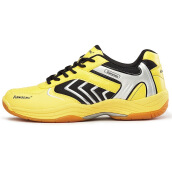 Sports Footwear-[Jingdong supermarket] Kawasaki Kawasaki badminton shoes comfortable breathable non-slip wear-resistant sports shoes shadow orange 43 yards on JD