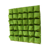 Gardening-Vertical Wall Garden Planter, 18 Pockets, Wall Hanging Planting Bags on JD