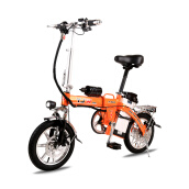 Bikes-BYUEBIKE ride instead of driving aluminum alloy folding pedal power assisted electric bicycle, 48V lithium battery car, men and wo on JD