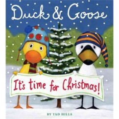 Duck & Goose: It's Time for Christmas 英文原版