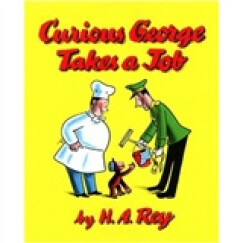 Curious George Takes a Job  好奇猴乔治找工作 英文原版