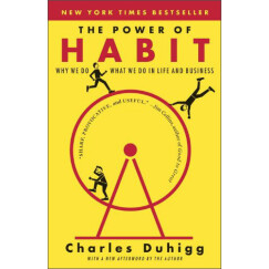 The Power of Habit: Why We Do What We Do in Life and Business习惯的力量 英文原版