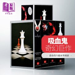 暮光之城 英文原版 4本全套集 the twilight saga 破晓 月食暮色