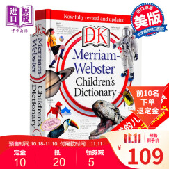 韦氏儿童词典 Merriam-Webster Children's Dictionary 英文原版