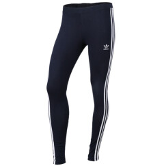阿迪达斯ADIDAS 三叶草 2017冬季 女子 3STRIPES LEGGINGS 针织长裤 BP5246 M码