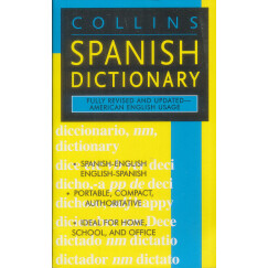 Collins Spanish Dictionary 柯林斯西班牙语字典 英文原版