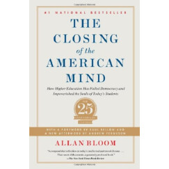 美国精神的封闭    英文原版	closing of the american mind