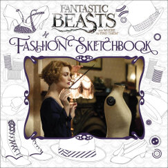 Fantastic Beasts and Where to Find Them: Fashion Sketchbook 神奇动物在哪里:时尚速写簿 英文原版
