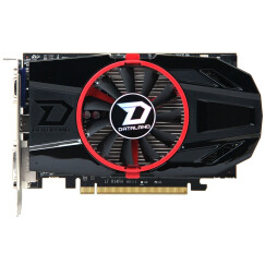 迪兰(Dataland)HD7770 超能 2G DS 950/4500MHz 2GB/128bit GDDR5显卡