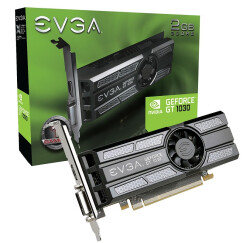 EVGA GT1030 2G GDDR5 SC Low Profile 半高显卡刀卡