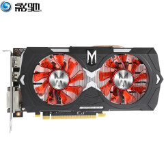 影驰(Galaxy)GeForce GTX 1050 Ti GAMER 1366(1480)MHz/7GHz 4G/128Bit D5 PCI-E吃鸡显卡