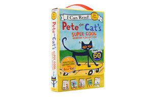 Pete the Cat's Super Cool Reading Collection (My First I Can Read) (套装共5册)皮特猫超级酷图书合集 英文原版