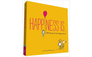 Happiness Is . . .  500 Things to Be Happy About 英文原版
