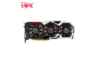 七彩虹(Colorful)iGame1060烈焰战神U-6GD5 Top GTX1060 1594-1809MHz/8008MHz6G/192bit吃鸡显卡