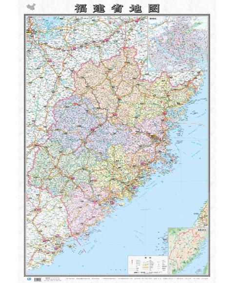 地图·福建省地图