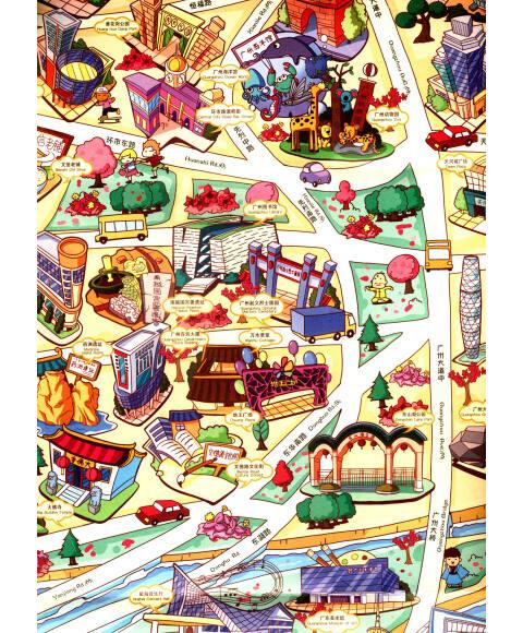 創意城市手繪地圖/本社》【摘要