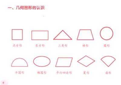 幾何梯形圖形簡筆畫內容圖片展示_幾何梯形圖形簡筆畫圖片下載圖片