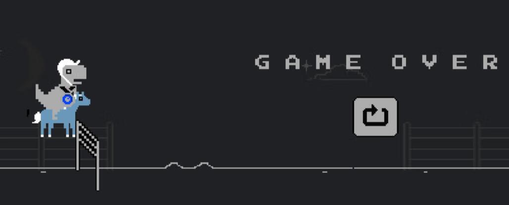 谷歌浏览器内置恐龙游戏已加入东京奥运会项目 来试试吧