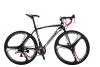 EUROBIKE 700C Road BIKE SHimano 21 Speed Racing Bicycle Disc Brakes 21 Gears 49cm