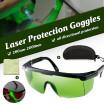 meterk / Gafas de protección láser 200nm-2000nm Gafas de seguridad láser OD4  Gafas protectoras con estilo