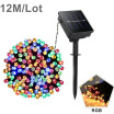 AIUNCI / Solar Power LED String Outdoor Waterproof RGB Fairy Solar Night light Sensor Garden Patio Lawn Yard Christmas Decoration lamp