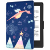 Pottery fit Kindle 558 version of the protective cover shell painting series new Kindle e-book dormant leather sprout dragon