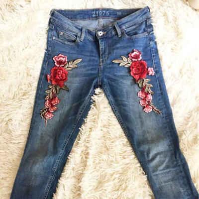 аппликации на джинсы фото поэтому людям иногда