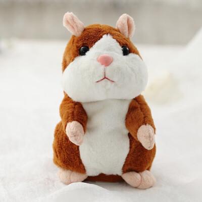 15cm lovely speak Hamster talk sound record repeat stuffed plush Animal Kawaii plush toys