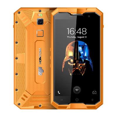 HOMTOM ZOJI Z8 IP68 Mobile Phone Waterproof Shockproof Dustproof Ragged Fingerprint 4G Smartphone 50 Inches HD 1280720P IPS Corn