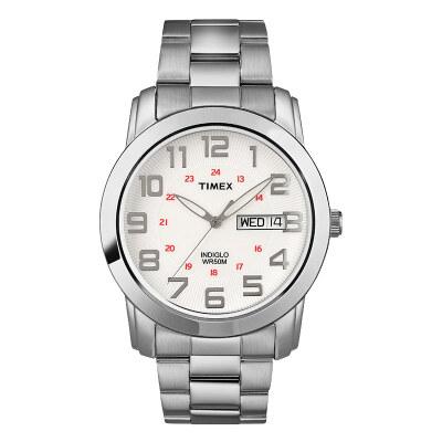 Tianmei TIMEX retro trend steel belt female table silver quartz watch T2N437