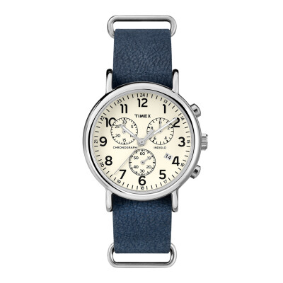 Tianmei TIMEX Fairfield Series Calendar Window Belt Mens Quartz Watch Fashion Waterproof Student Watch TW2P62100