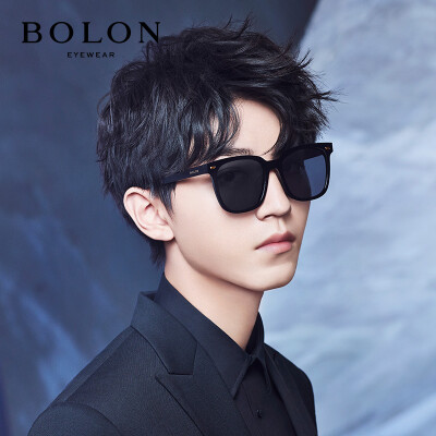 Tyrannosaurus BOLON glasses mens new plate sunglasses fashion D-shaped frame polarized sunglasses BL3019C10
