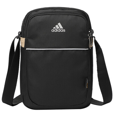 Adidas Sports Bag Shoulder Bag Multifunction Messenger Bag Black