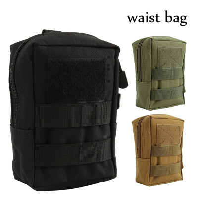 600D Outdoor Military Tactical Life Bag Multifunctional Tool Pouch Edc Springs Hinge Hunting Durable Belt Pouches Packs