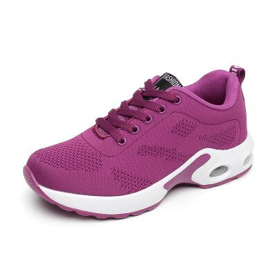 FAN PAO mesh breathable running sport shoes for women girls air cushion comfortable walking jogging casual sneakers