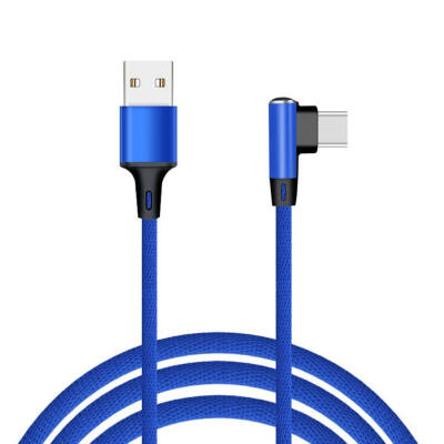 1m Micro USB Cable Android Nylon Braided Fast Charging Charger Cable For Android Smartphone-1m