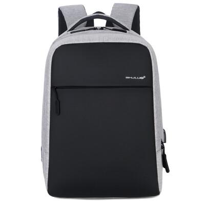 Factory direct business casual mens backpack 2019 new shoulder computer bag enterprise custom package