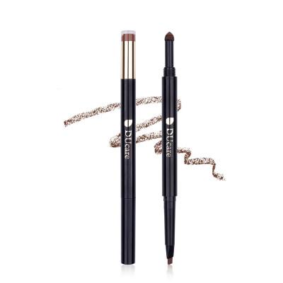 Waterproof Natural Eyebrow Pen Eye Brow Tint Makeup Four Colors Eyebrow Pencil Brown Black Grey Brush Cosmetics