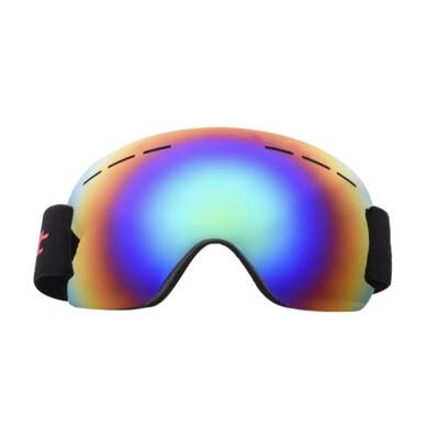 Frameless Ski Snowboard Goggles Windproof UV Protection With Adjustable Elastic Head Band Motorcycle Glasses Racing Eyewear