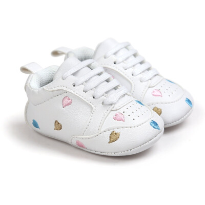 Baby Shoes Non-slip Shoes Baby Boys Girls Newborn Babies Shoes Leather Stars Pattern Sports Boots Children winter shoes E