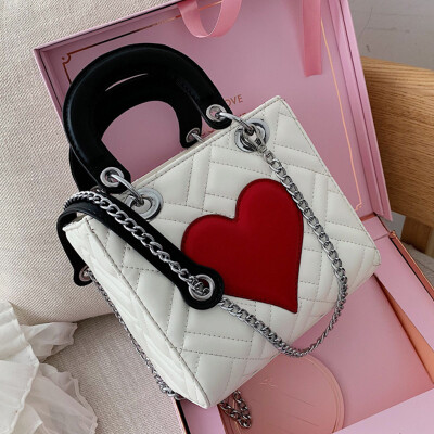 Foreign gas package 2019 new Korean version of the slant satchel chain single - shoulder fashion handbags