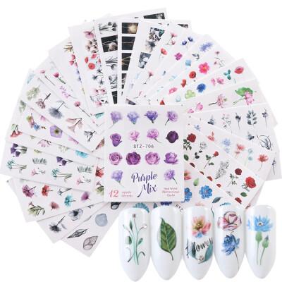 Nail stickers 24 sheets