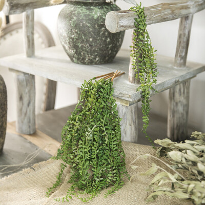 1 Stk Künstliche Hängepflanzen Simulation Perlenkette Sukkulenten Blumendekor