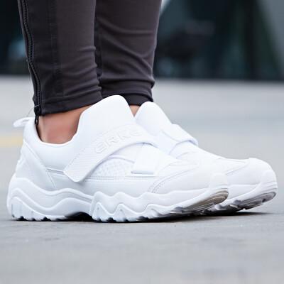 Hongxing Erke ERKE womens pink casual jogging sports shoes wear fashion womens running shoes 52118120117 white 40