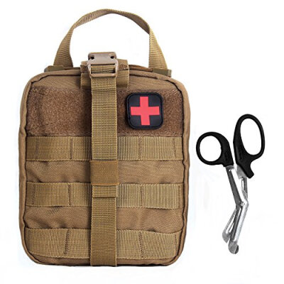 Compact Tactical MOLLE Rip-Away EMT Medical First Aid Utility Pouch