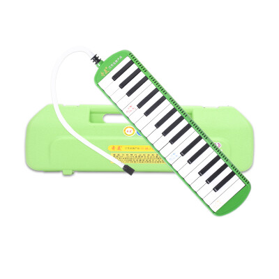 Chi Mei QIMEI 32-key tone piano small yellow tone piano green