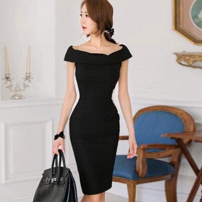 Lovaru ™ Free shipping Plus Size New Fashion 2015 Women Spring Summer Girl Black White vintage Casual bodycon Dress vestido