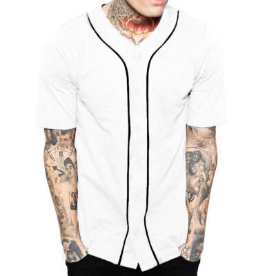 CANGHPGIN Summer Mens Fashion Short Sleeved T-shirt Male Casual Slim Fit T-Shirts Cotton Tops Tees T-shirt Man 3XL